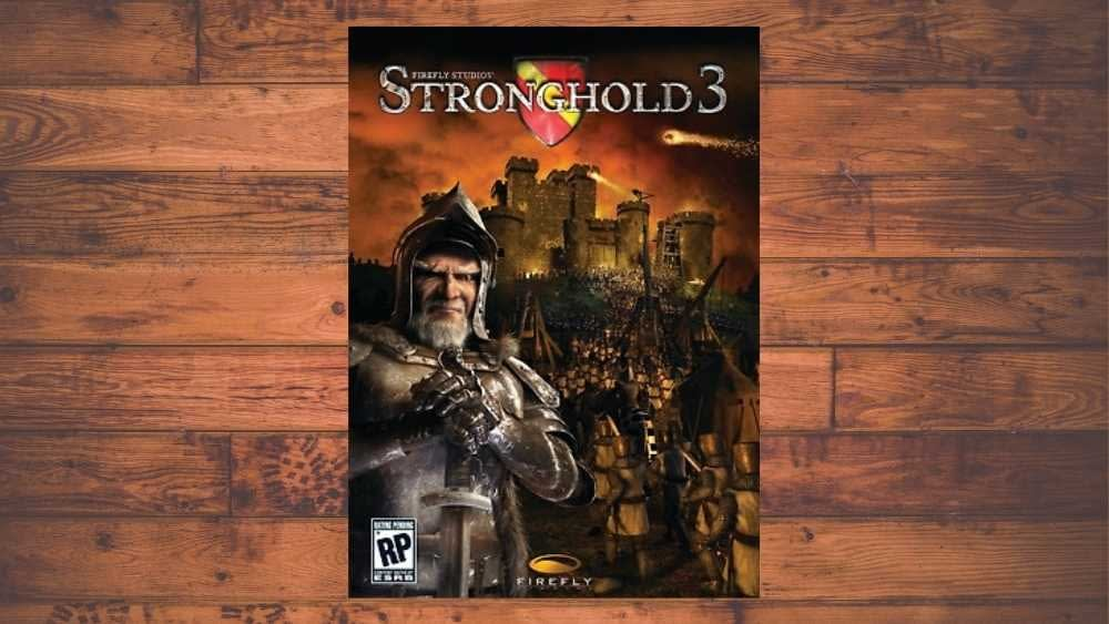 PC cover of Stronghold 3 game