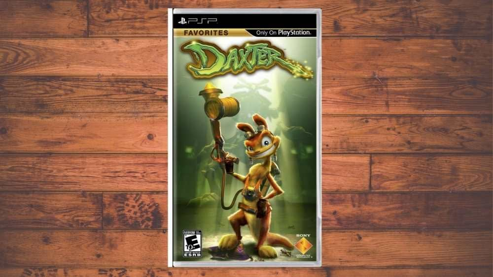 PSP cover of Daxter game