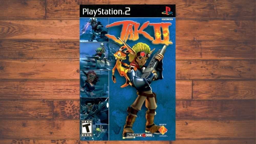 PS2 cover of Jak II game