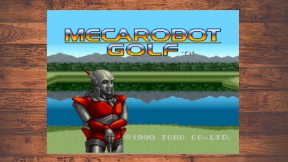 image of Mecarobot Golf game