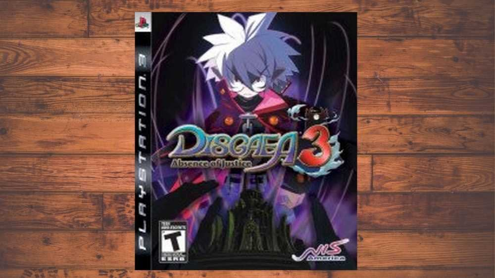 PS3 cover of Disgaea 3: Absence of Justice game