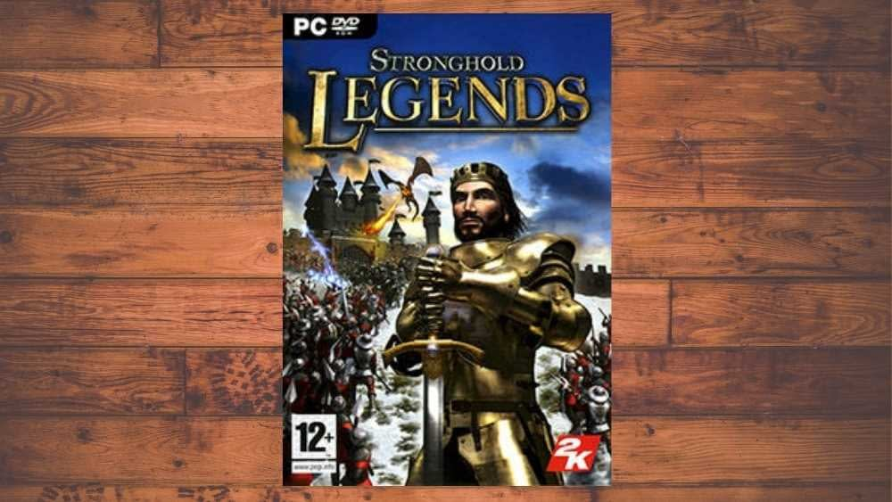 PC cover of Stronghold Legends game