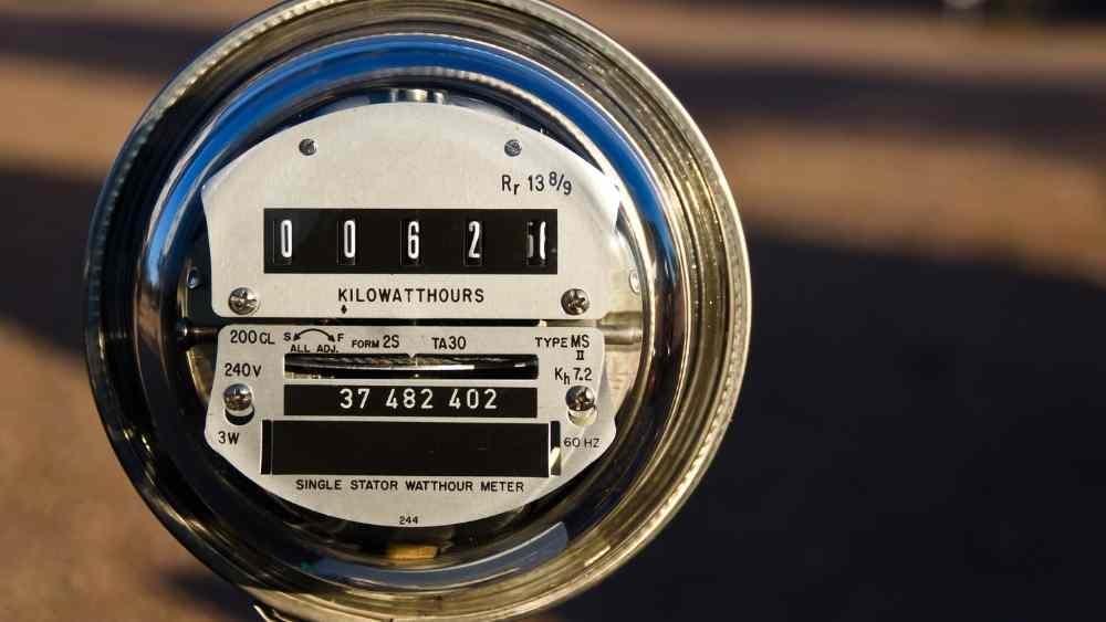 power consumption meter