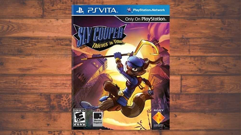 PSVITA cover of Sly Cooper: Thieves in Time game
