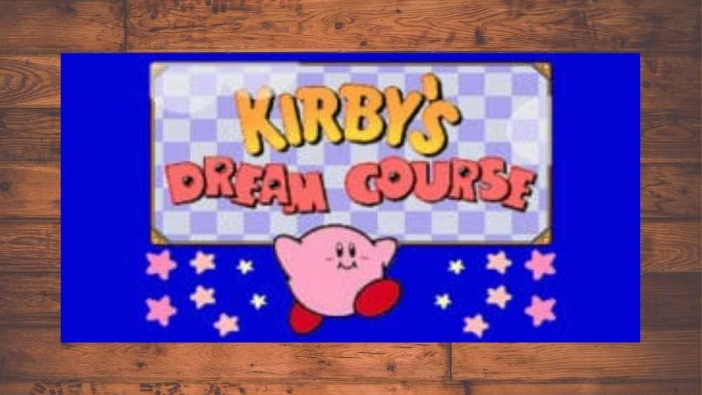 image of Kirby's Dream Course game
