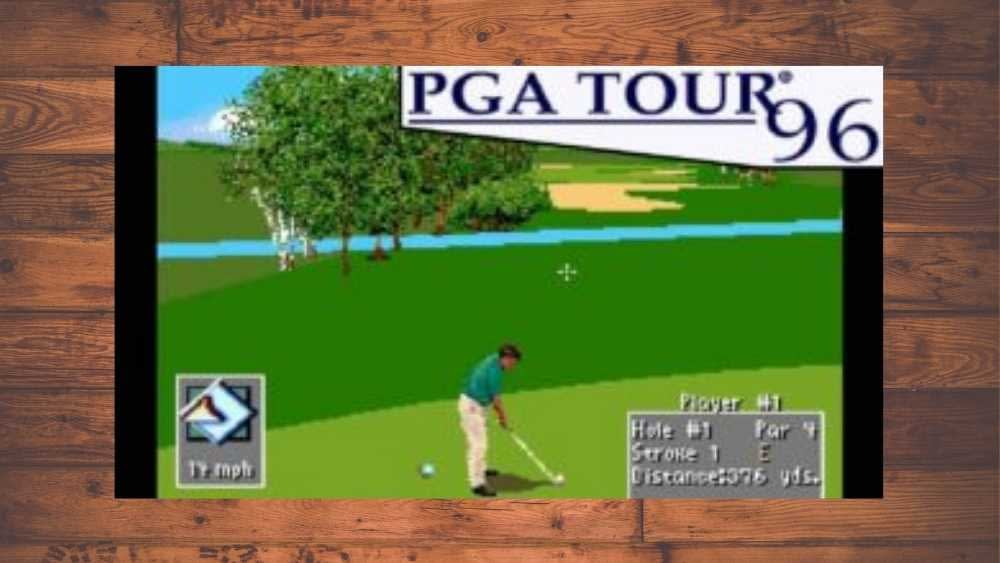 image of PGA Tour 96 game