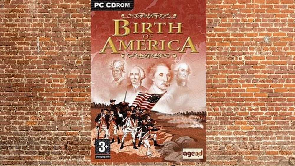PC cover of Birth of America game