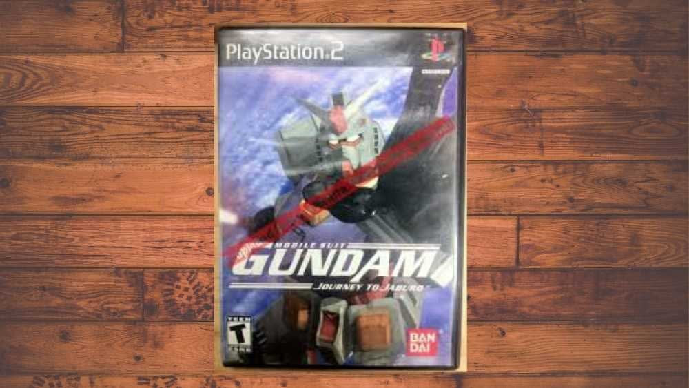 PS2 cover of Mobile Suit Gundam: Journey to Jaburo game