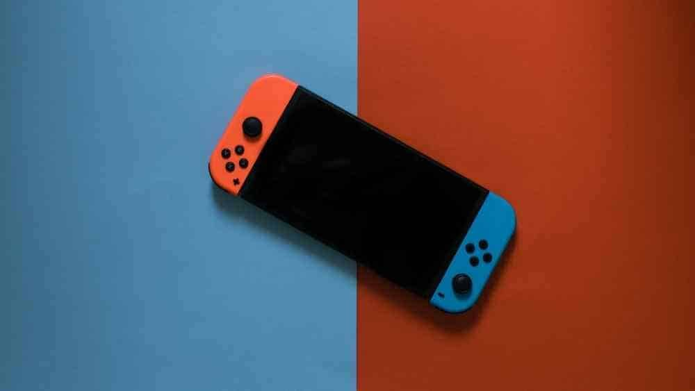 picture of a Nintendo Switch