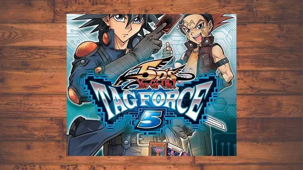 cover image of Yu-Gi-Oh! 5D's: Tag Force 5 game