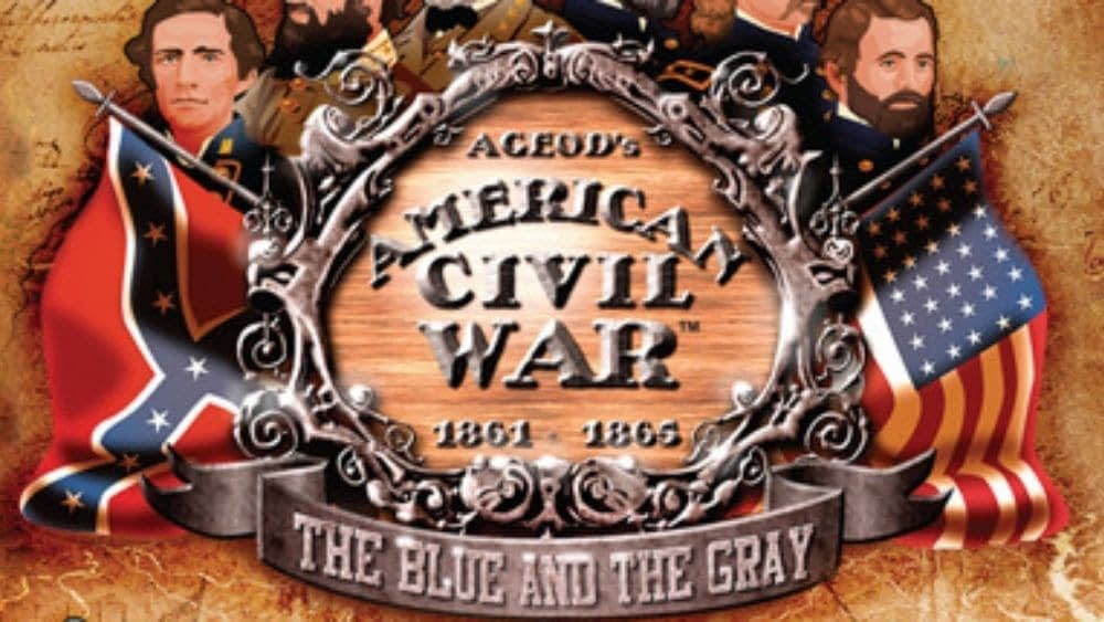 cover image of AGEod's American Civil War: 1861-1865 – The Blue and the Gray game