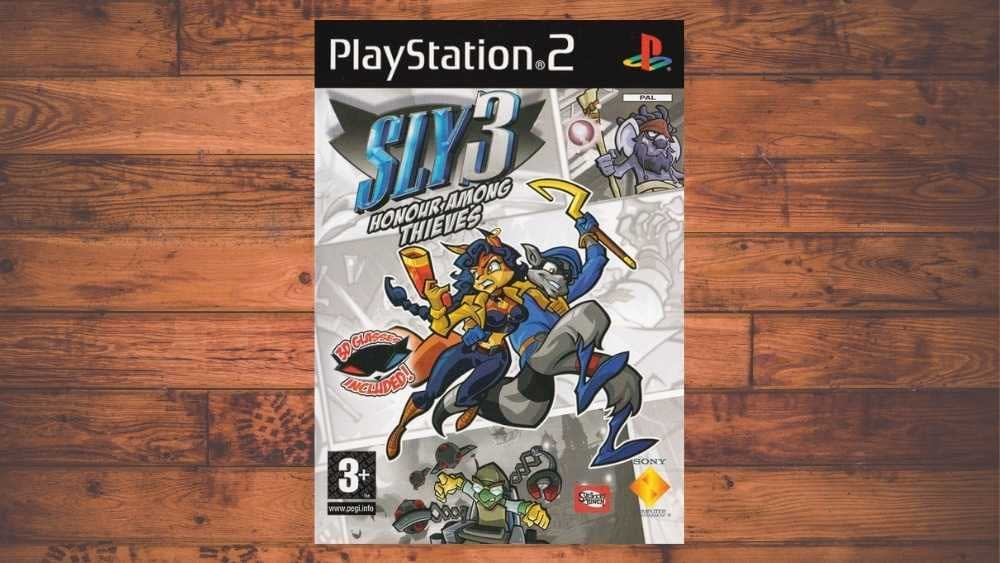 PS2 cover of Sly 3: Honor Among Thieves game